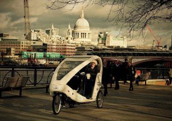 В Лондоне появился новый вид наемного транспорта