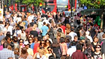 Нетто миграции между Великобританией и ЕС снизилось до минимума за четыре года