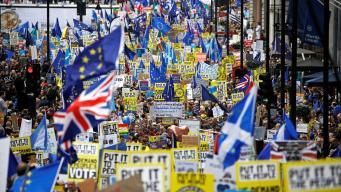 Марш в Лондоне с требованием нового референдума собрал миллион человек