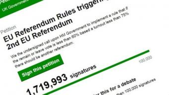 Движение за повторный референдум набирает обороты фото:bbc.com