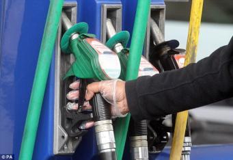 В Великобритании вырастут цены на автомобильное топливо фото:thisismoney.co.uk