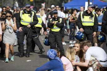 Кислотная атака на карнавале в Ноттинг-Хилле: пострадали пять человек