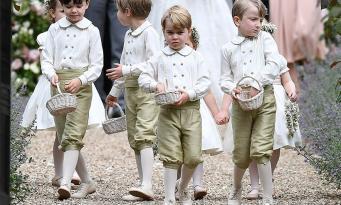 Принцу Джорджу и принцессе Шарлотте отведена особая роль на свадьбе Гарри и Меган