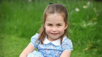 Принцесса Шарлотта отмечает четвертый день рождения