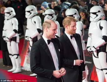 Принцы Уильям и Гарри снялись в новом эпизоде «Звездных войн»