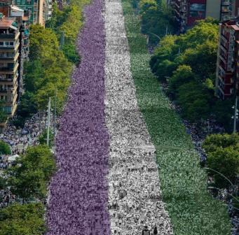 Женский марш пройдет по центру Лондона в эти выходные