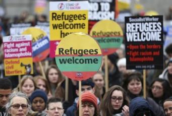 Количество желающих получить убежище в Великобритании достигло рекордного уровня
