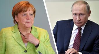 Путин показал Меркель, кто в доме хозяин