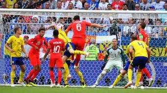 Сборная Англии эффектно вышла в полуфинал