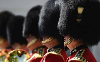Королевский гвардеец отпихнул туристку в Виндзорском замке