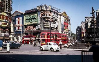 Удивительные фотографии Лондона 60-70-х годов прошлого века