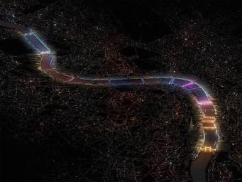 Назван победитель в конкурсе проектов комплексной подсветки лондонских мостов фото:londonist.com