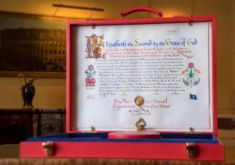 Обнародовано королевское благословление бракосочетания принца Гарри и Меган Маркл
