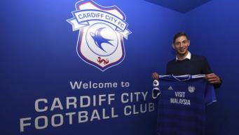 Нападающий Cardiff City назван пассажиром пропавшего самолета