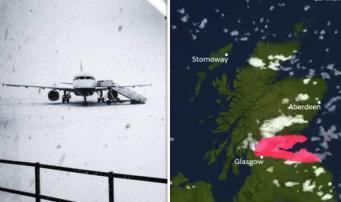 «Красный» уровень штормового предупреждения активирован в Шотландии