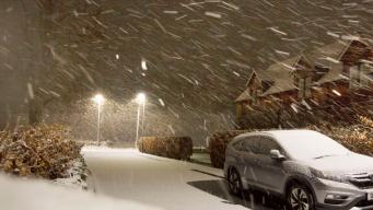 Шотландия обледенела во время шторма Дайрдре