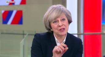 Как не сказать ничего в тысячах слов: Тереза Мэй дала интервью телеканалу Sky  фото:youtube