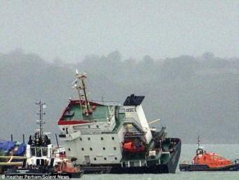Российское торговое судно потерпело бедствие у берегов Англии