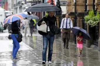 Синоптики объявили желтый уровень метеоугрозы по юго-востоку Англии фото:dailymail