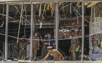 Британский МИД назвал предварительные данные о погибших на Шри-Ланке