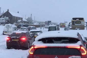 Морозы в Великобритании усилились до рекордных значений, повышен уровень метеоугрозы