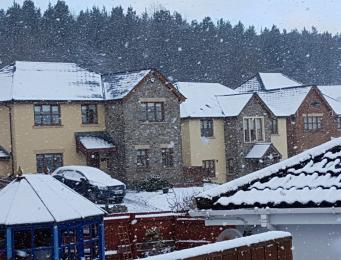 MetOffice прогнозирует усиление снегопадов в Великобритании