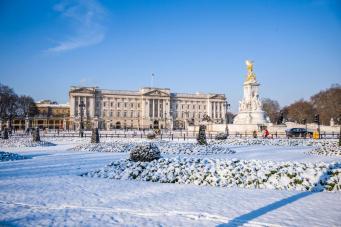 Снегопад дойдет до Лондона  в воскресенье