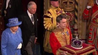 Тронная речь-2017 может стать последней для королевы Елизаветы II фото:bbc