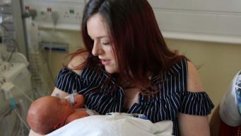 В Великобритании проведена первая внутриутробная операция на спинном мозге