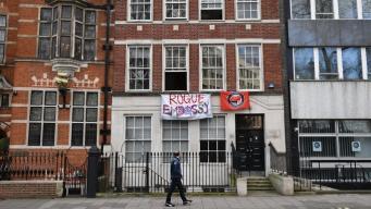 Сквоттеры оккупировали дома рядом с королевским дворцом в Лондоне фото:itv