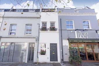 Дом шириной два метра в Баттерси продают за миллион фунтов стерлингов