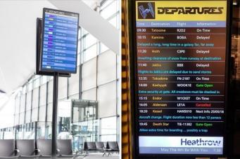 Аэропорт Хитроу отметил «День Звездных войн»