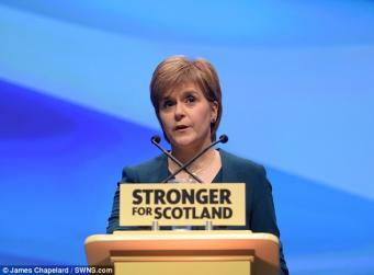 Новый билль о референдуме в Шотландии будет опубликован на следующей неделе фото:dailymail.co.uk