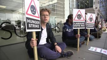 Противники расширения аэропорта Хитроу объявили голодовку