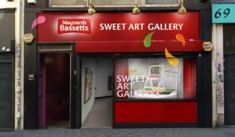 В Лондоне на два дня откроется художественная галерея из конфет