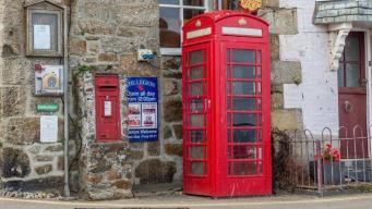 British Telecom спишет с баланса половину уличных телефонных будок фото:bbc