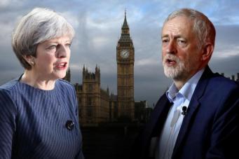 Мэй и Корбин примут участие в предвыборных программах на ТВ без личных дебатов фото:standard.co.uk