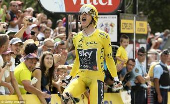 Британский велогонщик победил в Тур де Франс