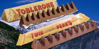Poundland выпустил «валлийскую копию» шоколада Toblerone