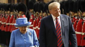 Дональд Трамп посетит Великобританию с официальным визитом