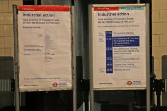 Закрытие двух линий метро из-за забастовки осложнит дорожную ситуацию в Лондоне фото:standard.co.uk