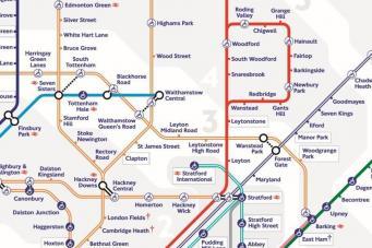 TfL представил новую схему лондонского метро