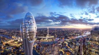 Небоскреб-тюльпан построят в Лондоне вопреки протестам