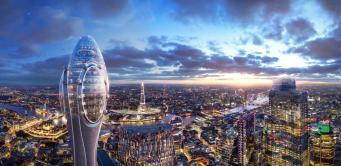 Лондонская Ассамблея забраковала проект тысячефутового небоскреба Tulip