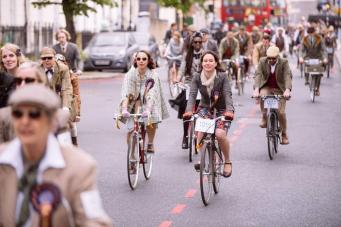 Лондон приглашает на городской велофестиваль в банковские выходные