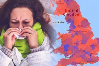 Эпидемия гриппа в Великобритании: статистика смертей