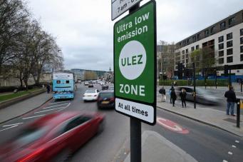 Раскрыты доходы мэрии Лондона от введения «зоны нулевого выхлопа»