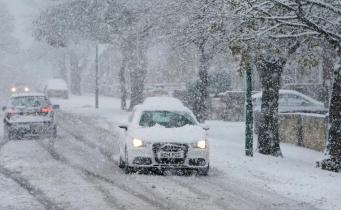 На Великобританию надвигается циклон с сильным снегопадом