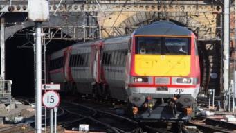 Операторы железнодорожных перевозок анонсировали проведение забастовки фото:bbc