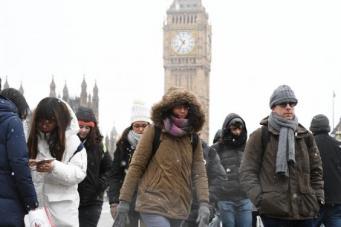 В Лондоне холоднее, чем в Исландии: синоптики дали неутешительный прогноз до конца недели фото:standard.co.uk
